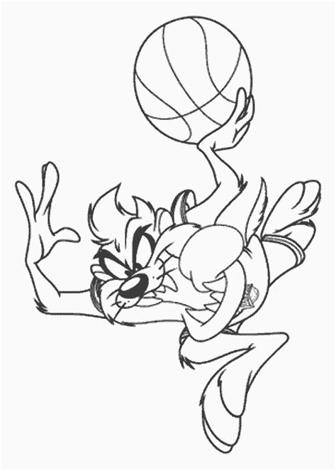 Tasmanian Devil Coloring Pages Az Coloring Pages Tasmanian Looney Tunes Coloring Page