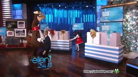 Ellen Degeneres Show 12 Days Of Giveaways - ellen monologue day 13 of 12 days of giveaways dec 22 2014 gloublog