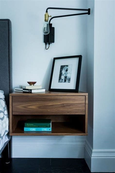 coolest floating nightstands  bedside tables digsdigs