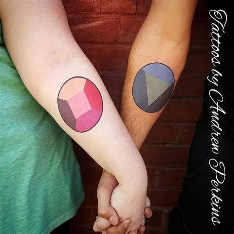 garnet tattoo and here is the picture that artist took ruby and