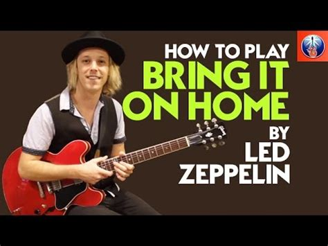 bring it on home led zeppelin lesson zeppelin guitar lesson