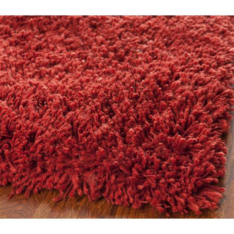 shag accent rugs safavieh shag rust area rug reviews wayfair