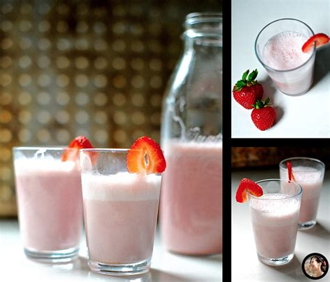 Strawberry Milk Almond strawberry almond milk vegan paleo sunnysidehanne