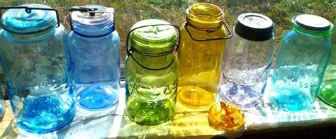 colored jars september 2013 antique bottle glass photo gallery