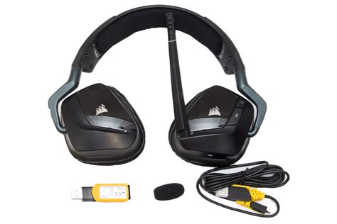Corsair Void Wireless Yellowjacket Special Edition Gaming Headset corsair gaming void rgb wireless headset ojazink