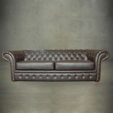 chesterfield tufted leather sofa top grain leather tufted chesterfield sofa pjs06603