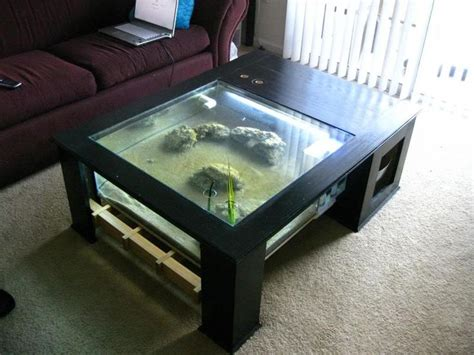 25 best ideas about coffee table aquarium on