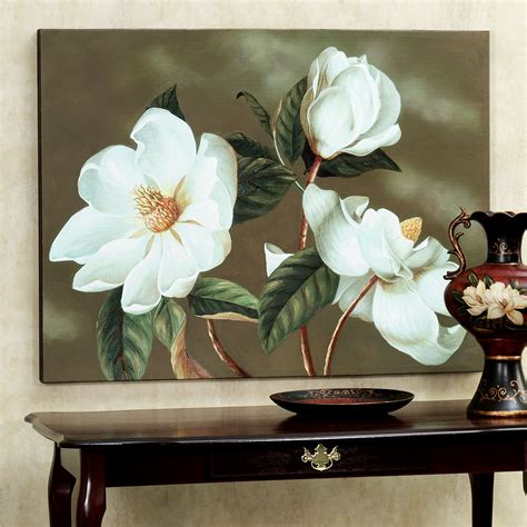 Magnolia Wall Decor by Magnolia Canvas Wall Gallery