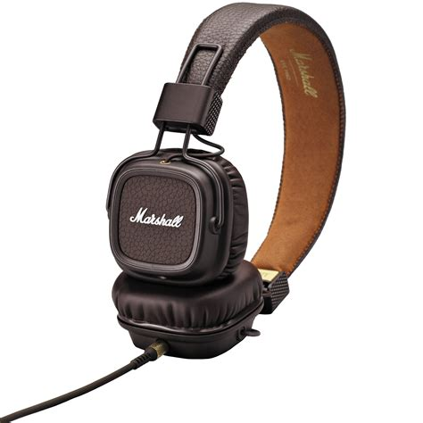 Headset Marshall marshall audio major ii headphones brown 4091112 b h photo
