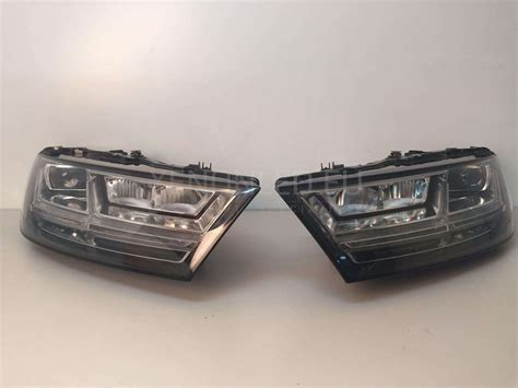 audi q7 led lights audi q7 4m led headlights 2015 xenonled eu