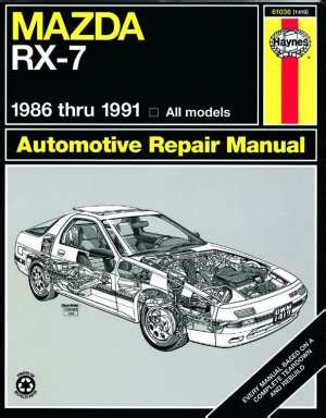 best car repair manuals 1991 mazda rx 7 lane departure warning beven youngs automotive motorcycle books and software web site