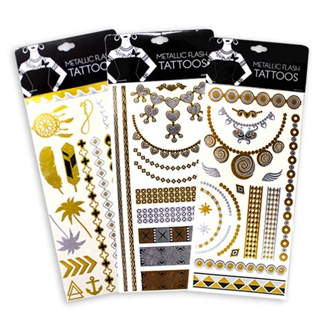 metallic tattoo png flash tattos la nueva tendencia 191 qu 233 son our glam