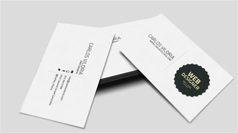 name card template photoshop 3 best sles templates