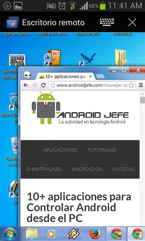 escritorio remoto chrome descargar escritorio remoto de chrome manejar el pc con android