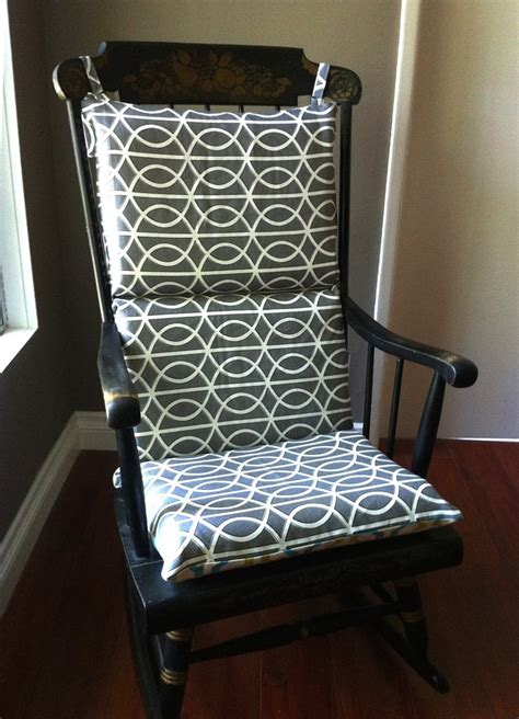 glider rocker slipcover pattern rocking chair cover looks double sided and easier