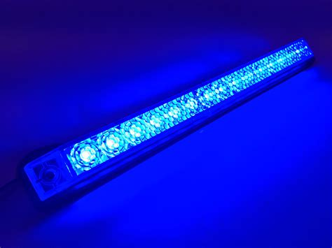 Marine Boat Blue Led Strip Light 23lm Surface Mount 12v 3w Blue Led Light Strips