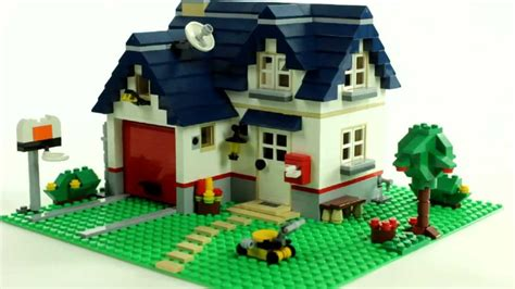 apple house lego creator apple tree house 5891 レゴ muffin songs toy review youtube
