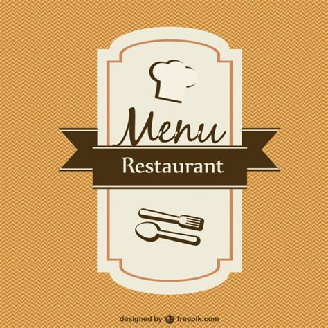 menu card design template vector free menu card template vector vector free