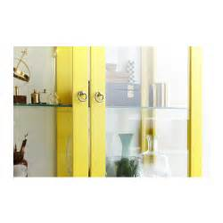 Ikea Stockholm Glass Door Cabinet Stockholm Glass Door Cabinet Yellow 90x180 Cm Ikea