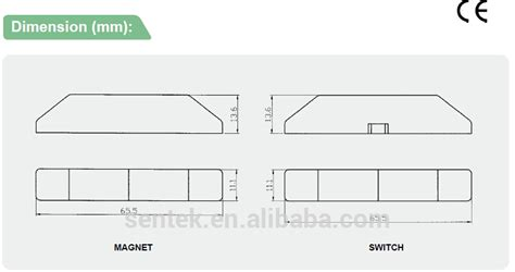 surface wiring pdf surface mounted magnetic door contact switches buy door