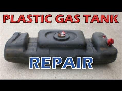 boat gas tank sealant car atv motorcycle plastic gas tank fix repair leak youtube