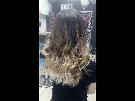 como hacer highliths en el cabello como hacer unas mechas balayage sobre cabello te 241 ido how