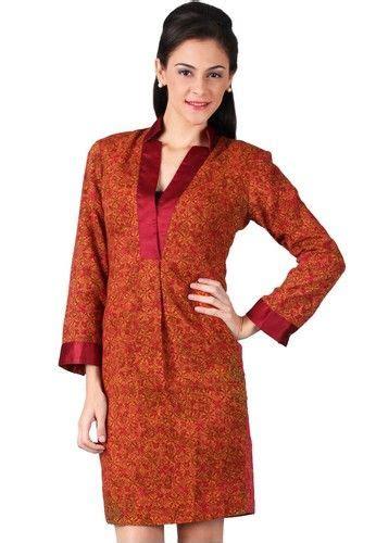 Celana Fatin Muslim Batik Simple model baju batik wanita untuk kerja kantor model baju batik terbaru models
