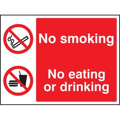 No Smoking Eating Or Drinking Signs 3012 Proshield | no smoking eating or drinking signs 3012 proshield