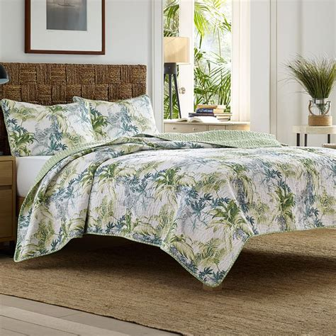 tropical bedding sets tommy bahama lighthouse quay quilt set tommy bahama