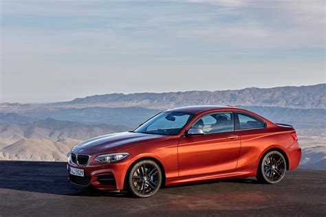 bmw 2 series coupe and convertible facelift unveiled