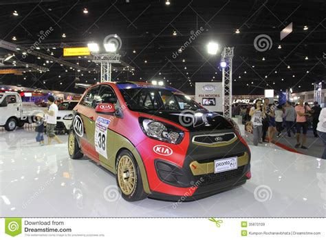Kia Picanto Performance Kia Picanto Display In Thailand International Motor Expo