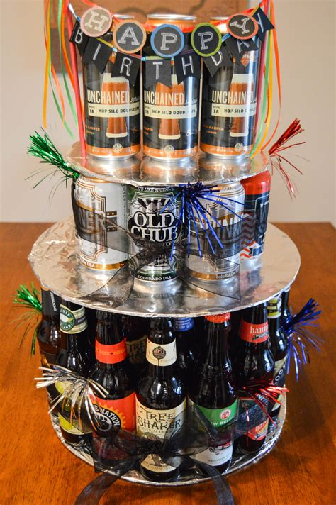 beer can cake how to make a beer bottle or can birthday cake