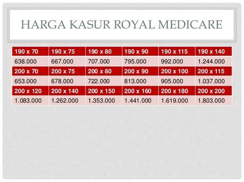Kasur Busa Royal No 1 harga kasur busa royal medicare 0811 3111 778
