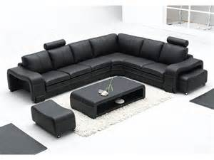 Multi Color Sectional Sofa Grand Canap 233 D Angle En Cuir Pleine Fleur Fabio Option
