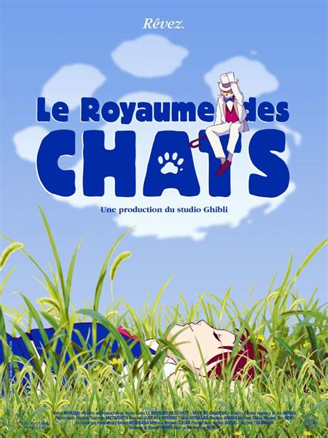 les film ghibli le royaume des chats film 2002 allocin 233