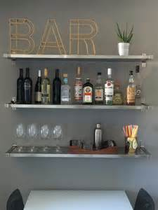 bar regale 25 best ideas about bar shelves on industrial