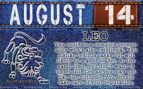 born great meaning august 14 birthday horoscope personality sun signs