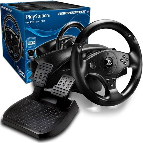 volante t80 volante gamer para playstation 4 e ps3 t80 racing wheel
