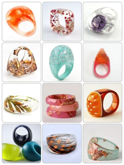 Kalung Fashion Minimlaist With Empty Triangle best 25 resin ring ideas on jewelry
