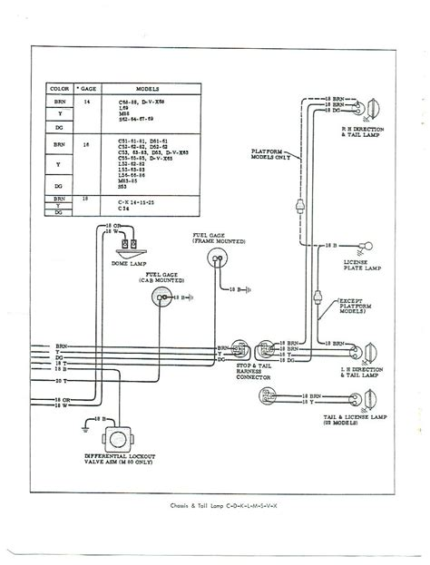 chevy truck light wiring diagram chevy get free