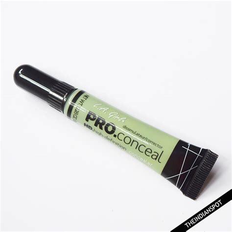 La Pro Concealer Green Corrector La Pro Conceal Hd Concealer Green Corrector Review
