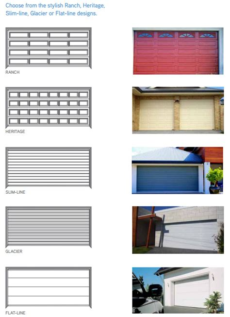 what size do garage doors come in