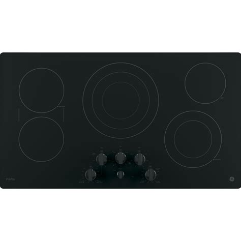 Ge Profile Cooktop Knobs Replacements pp7036djbb ge profile series 36 quot built in knob