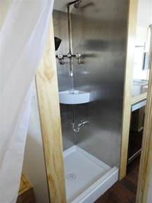 Rv Outdoor Shower - meet this couple living in a 204 square foot tiny house