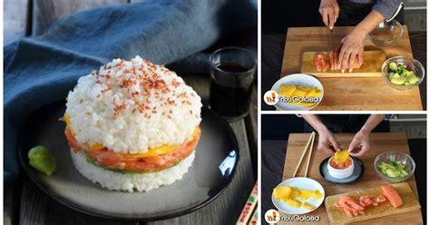 come cucinare il sushi come preparare il sushi burger