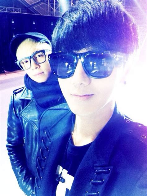 donghae twitter 130321 yesung twitter update donghae yesung during