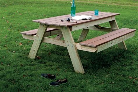 Building A Picnic Table by Build A Picnic Table Popular Mechanics