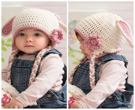7 Adorable Winter Hats by 50 Free Adorable Baby Crochet Hat Patterns Page 4 Of 5