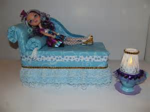 furniture for after high dolls handmade chaise lounge bed