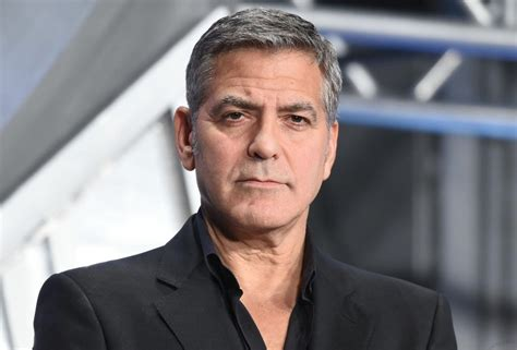George Clooney And Say It Isnt So by George Clooney Plastic Surgery Isn T An Option For Me